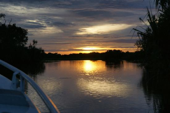 River and Reef Fishing Charters: Dawn on Corroborree Billabong