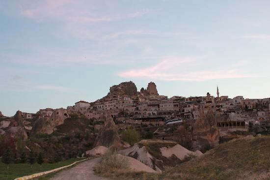 Takaev: vue du village