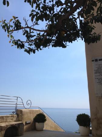 ocean view from terrace