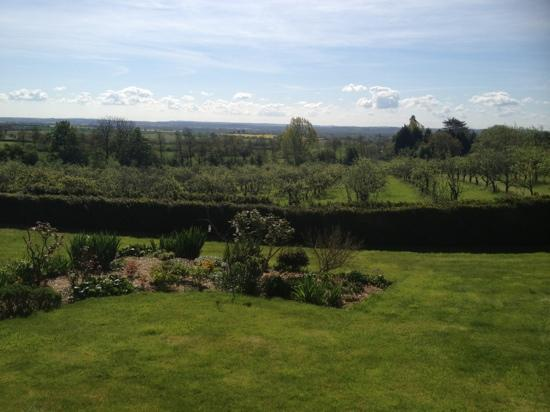 Shakespeare's View: view from back garden