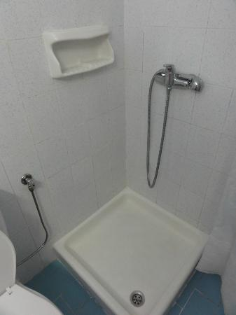 Apollon Hotel Apartments: Bad/WC