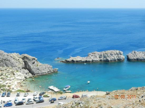 Agios Pavlos Beach (Saint Paul): bay