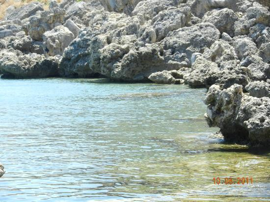 Agios Pavlos Beach (Saint Paul): clean