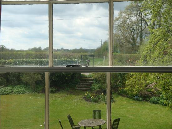 Witham Friary, UK: Gorgeous view from our room