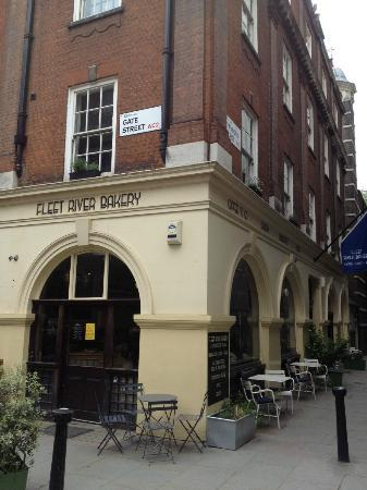 Photo of Cafe Fleet River Bakery at 71 Lincoln's Inn Fields, London WC2A 3JH, United Kingdom