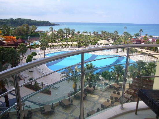 Saphir Resort & Spa: вид из номера