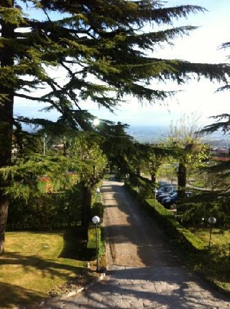 Villa Bianca Hotel: vistas desde la habitación