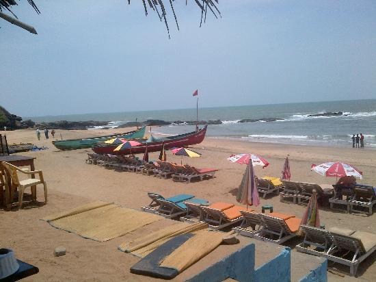 Anjuna Beach Resort: Curlies