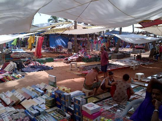Anjuna Beach Resort: Flea Market