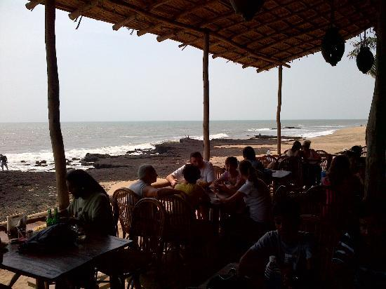 Anjuna Beach Resort: Cafe Lilliput
