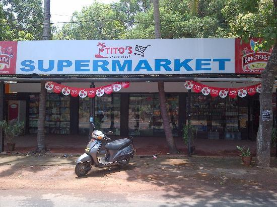 Anjuna Beach Resort: Supermarket
