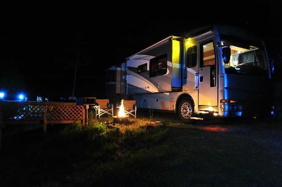 Murphy, Carolina del Norte: Private RV Camping Spot in the Mountains