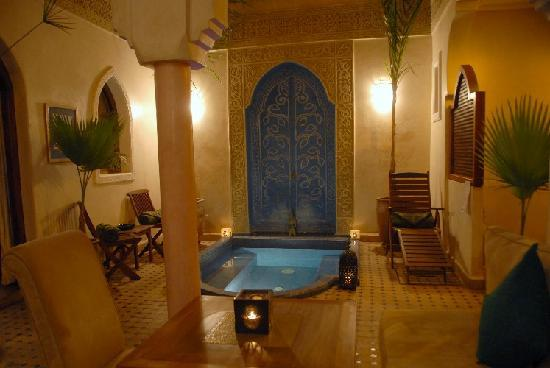 Riad Jonan: Le second patio