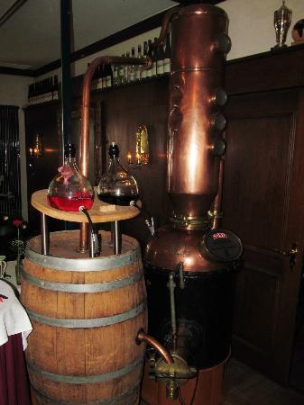 Akzent Hotel Tietmeyer, Schöppingen, distiller column