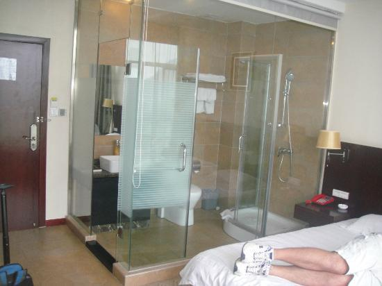 Guilin Homeland Riverview Hotel: Bathroom