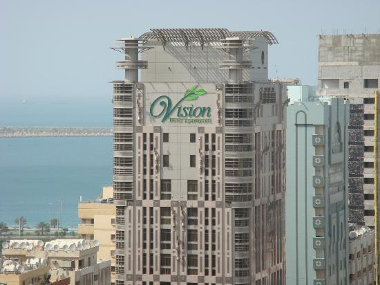 Vision Hotel Apartments: Hotel Upper floors