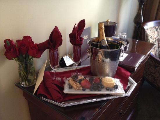 The Priory Hotel: romance package