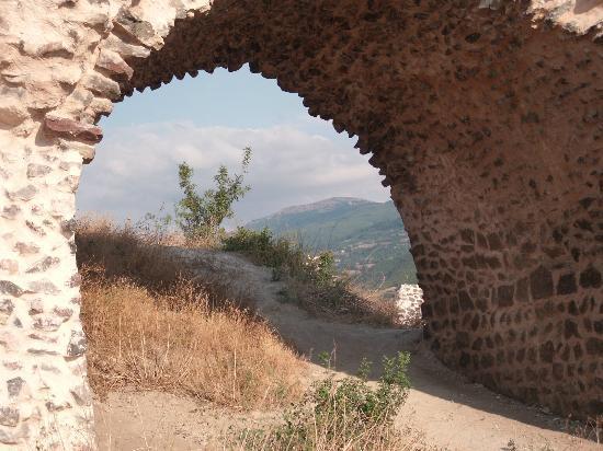Ayvaz Park Hotel : Burg von Niksar hoch oben