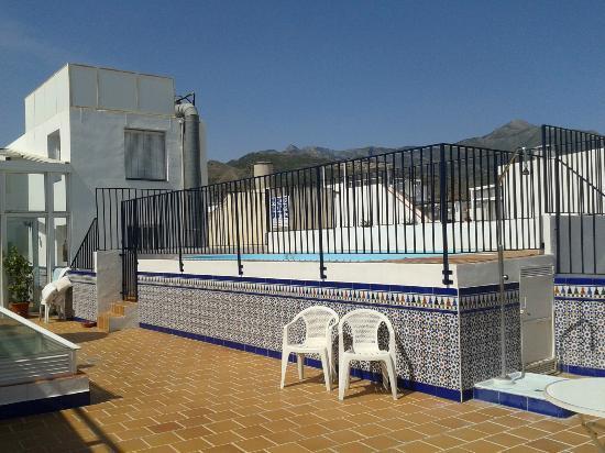 Apartamentos Pepe Mesa: Rooftop plunge pool
