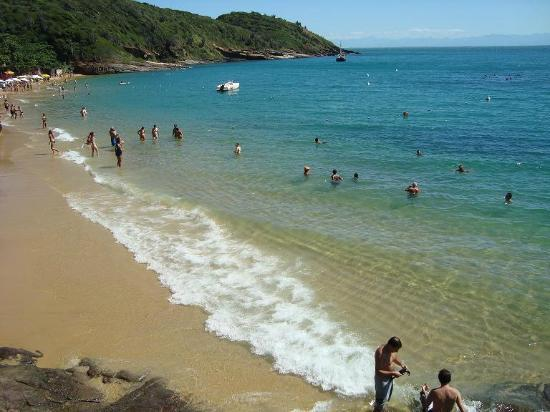 Rio Buzios Beach Hotel: Playa a 50 metros del hotel