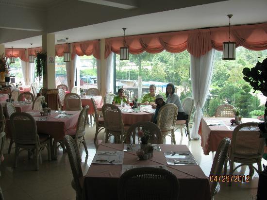 Casa dela Rosa Hotel: Restaurant