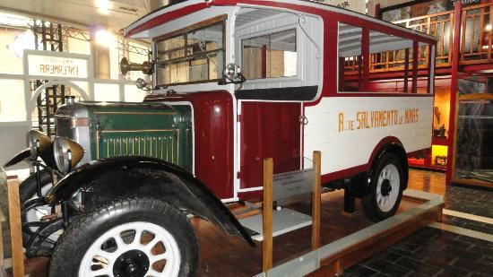 Museum of Mining and Industry: Ambulancia