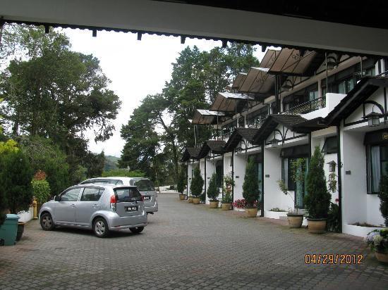 Casa dela Rosa Hotel: Parking