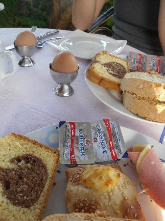 Hotel Glaros: Parte della colazione