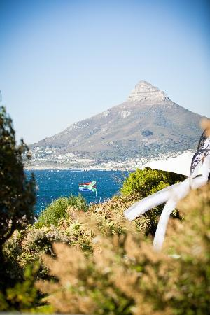 The Twelve Apostles Hotel and Spa: view from gardens