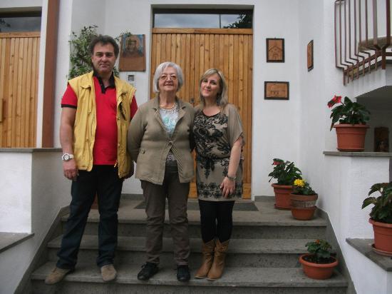 B&B Francesco in Assisi: Noi e la Sig.ra Carloni