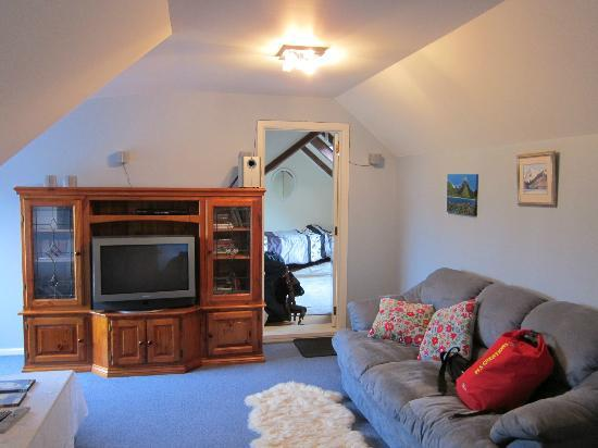 Temuka Gardens B & B : Guest Living Area