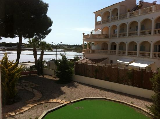 Villa Marquesa: view from hotel