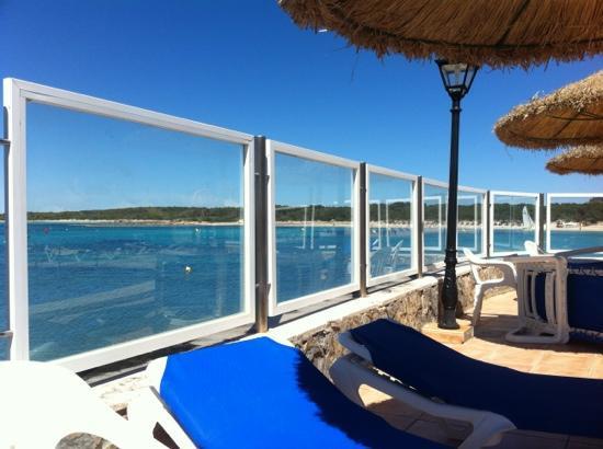 Villa Marquesa: view from swimming pool balcony