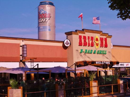 Arizona B-Bar & Grill: Outside of the Arizona