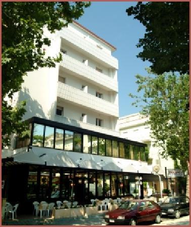 Rivazzurra, Italien: Hotel Tamanco - esterno