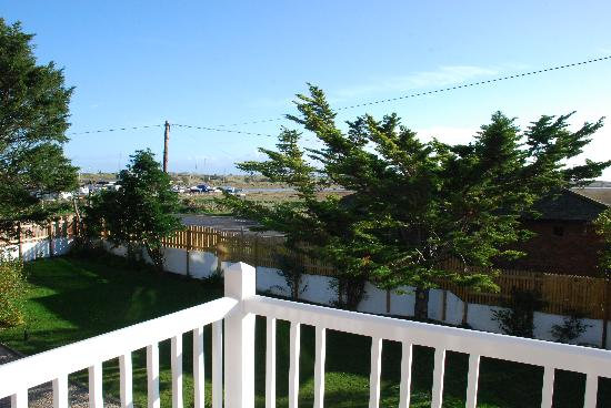 The Old Vicarage at Rye Harbour: View of the River Rother from the Balcony