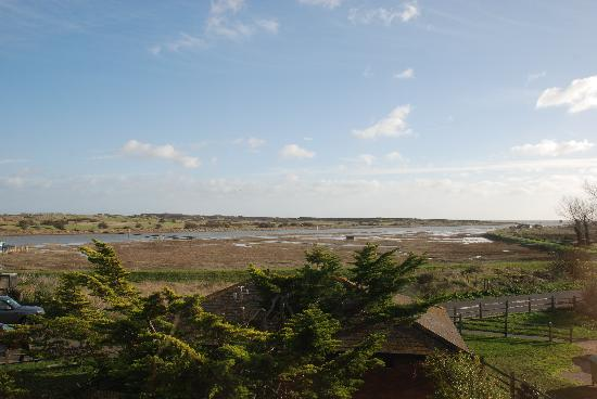 The Old Vicarage at Rye Harbour: View from the Martello Room