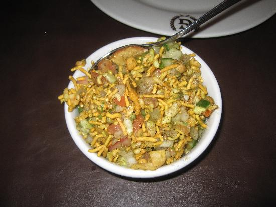 Guru Fine Indian Restaurant: Bhel Puri appetizer-YUM
