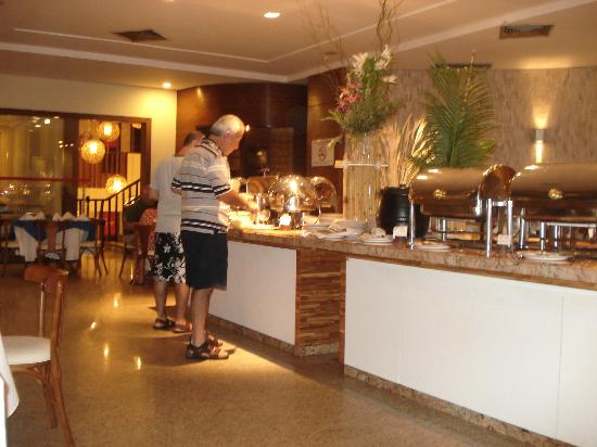 Rifoles Praia Hotel & Resort: area de desayuno y cena