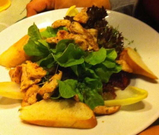 Schloss Brennerei: Salat