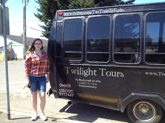 Twilight Tours in Forks: Tour guide rocked