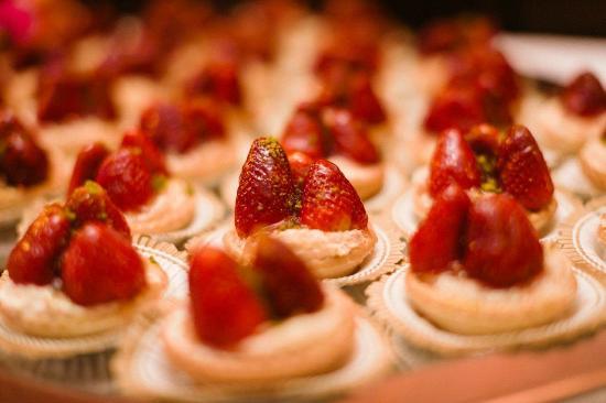 Hotel Strandlust Vegesack: leckeres Dessert