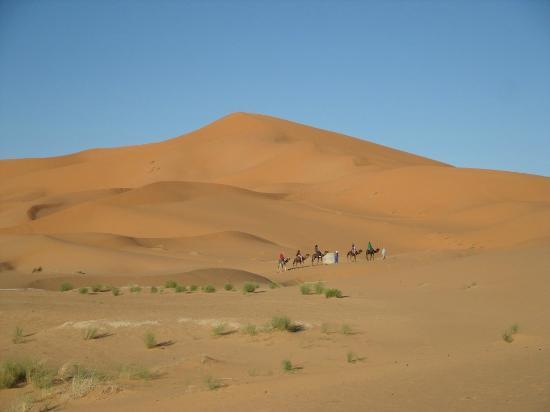Guest House Merzouga: Dunes de Merzouga