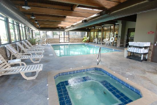 Comfort Inn & Suites: Indoor pool & Hot tub