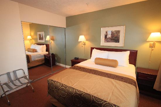 Econo Lodge Inn & Suites: One bedroom suite