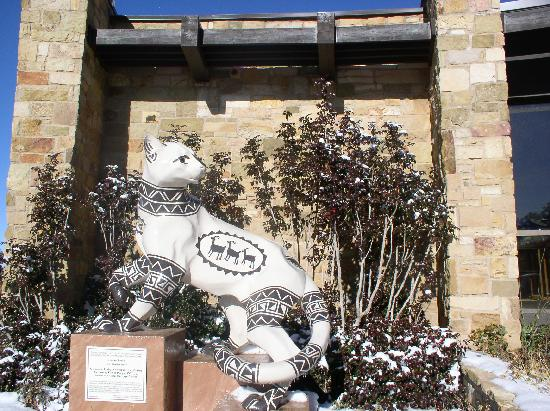 """Chuska Puma"" at the Anasazi Heritage Center"
