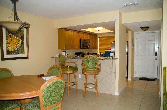 Vacation Villas at Fantasy World I: Dining/Kitchen Area