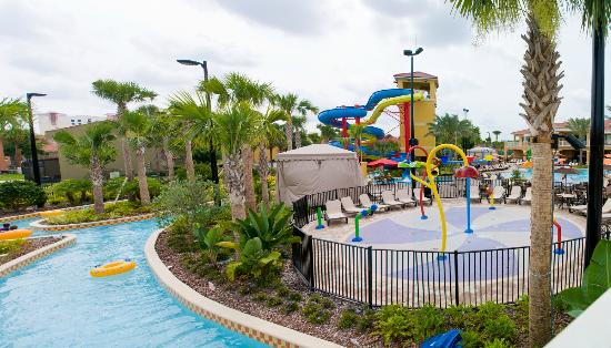 Vacation Villas at Fantasy World I: Main Pool / Water Park Area