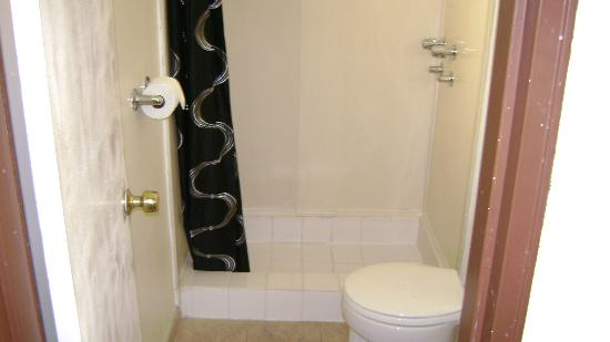 Hollywood Downtowner Inn: No mold or mildew; tile looks practically new