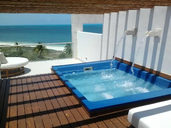 Excellence Playa Mujeres: Rooftop View from Building 9 - Excellence Club